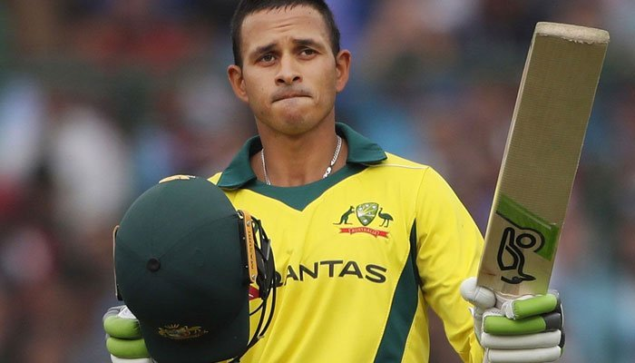 Usman Khawaja clashed with Justin Langer during Australia's tour