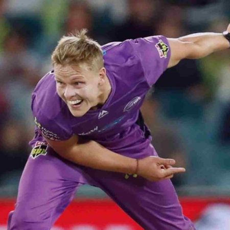 Nathan Ellis, an Australian pacer introduced as a replacement player in Punjab Kings' squad in the Indian Premier League 2021
