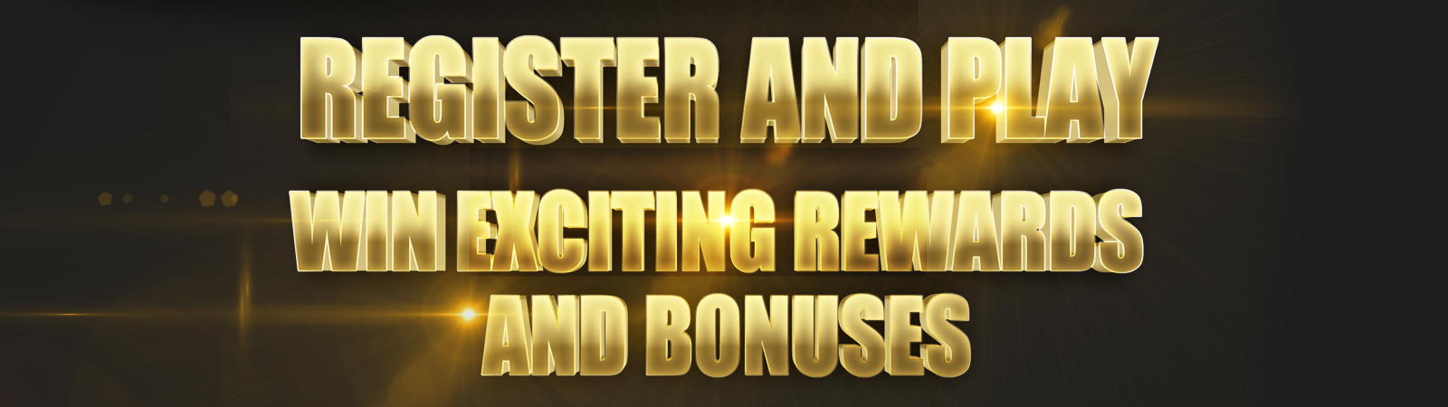 REGISTER AND PLAY BANNER