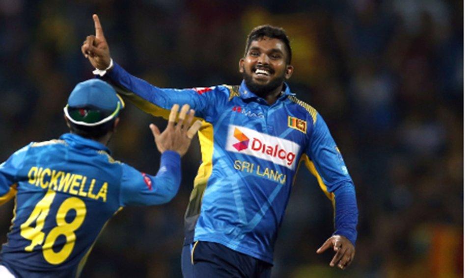 Sri Lanka spinner Wanidu